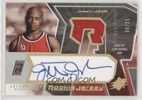 Autographed Rookie Jersey - Jarrett Jack #/25