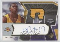 Autographed Rookie Jersey - Andrew Bynum #/1,499