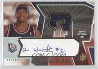 Autographed Rookie Jersey - Antoine Wright #/1,499
