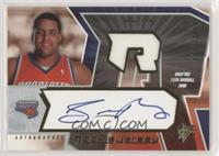 Autographed Rookie Jersey - Sean May #/1,458