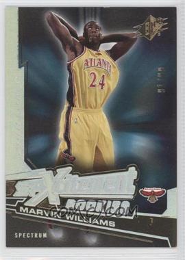 2005-06 SPx - Spxcitement Rookies - Spectrum #XCR2 - Marvin Williams /99