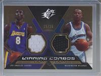 Kobe Bryant, Caron Butler #/25