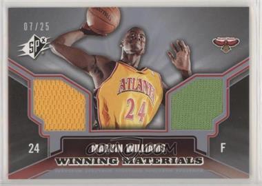 2005-06 SPx - Winning Materials - Spectrum #WM-MW - Marvin Williams /25