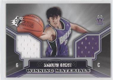 2005-06 SPx - Winning Materials #WM-AB - Andrew Bogut