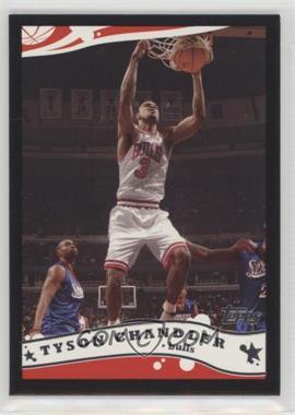 2005-06 Topps - [Base] - Black #86 - Tyson Chandler /500
