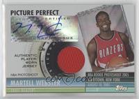 Martell Webster (Jersey) #/199