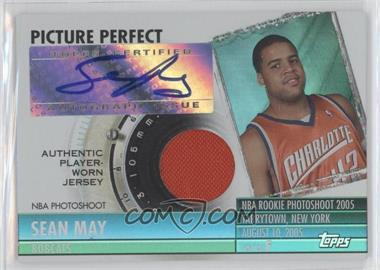 2005-06 Topps Big Game - Picture Perfect Relics - Autographs [Autographed] #PPA-SM - Sean May (Jersey) /199