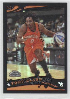 2005-06 Topps Chrome - [Base] - Black Refractor #228 - Tony Bland /399