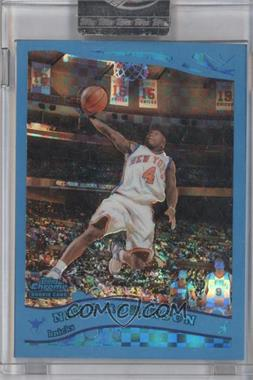 2005-06 Topps Chrome - [Base] - Blue X-Fractor #193 - Nate Robinson /90