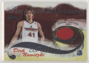 2005-06 Topps Chrome - Premium Performers #PP-DN - Dirk Nowitzki /400