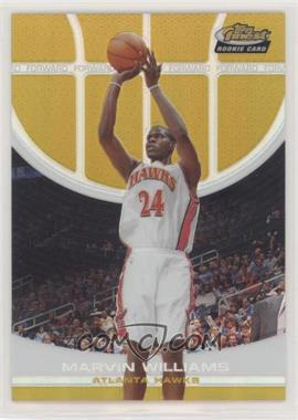 2005-06 Topps Finest - [Base] - Gold Refractor #109 - Marvin Williams /39