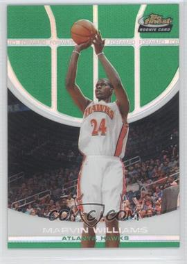 2005-06 Topps Finest - [Base] - Green Refractor #109 - Marvin Williams /89