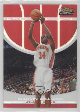 2005-06 Topps Finest - [Base] - Red Refractor #109 - Marvin Williams /169