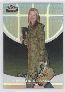 2005-06 Topps Finest - [Base] - Refractor #105 - Christie Brinkley /249
