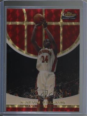 2005-06 Topps Finest - [Base] - Superfractor #109 - Marvin Williams /1
