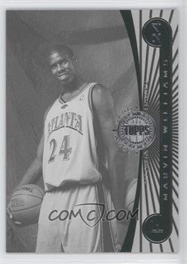 2005-06 Topps First Row - [Base] - Black & White #103 - Marvin Williams /225