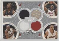 Dwyane Wade, Antoine Walker, Shaquille O'Neal, Jason Williams /193