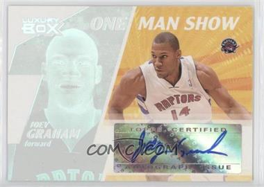 2005-06 Topps Luxury Box - One Man Show Autographs #OMSA-JG - Joey Graham /724