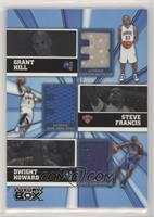Grant Hill, Steve Francis, Dwight Howard #/25