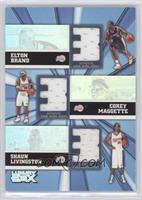 Elton Brand, Corey Maggette, Shaun Livingston /250