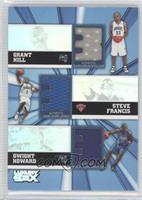 Grant Hill, Steve Francis, Dwight Howard #/250