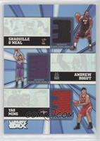 Shaquille O'Neal, Yao Ming, Andrew Bogut [NoneEXtoNM] #/250