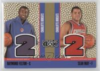 Raymond Felton, Sean May /1