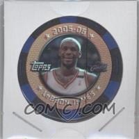 2005-06 Topps NBA Collector Chips - [Base] - Blue Foil #LEJA.1 - Lebron James /299