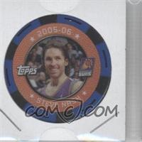 2005-06 Topps NBA Collector Chips - [Base] - Blue #STNA - Steve Nash