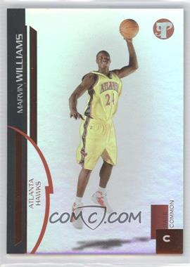 2005-06 Topps Pristine - [Base] - Uncirculated #102 - Marvin Williams /325