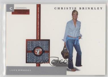 2005-06 Topps Pristine - Personal Pieces Relics #PPC-CBR - Christie Brinkley /350