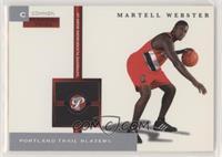 Martell Webster #/350