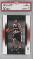 Tim Duncan /125 [PSA 10 GEM MT]