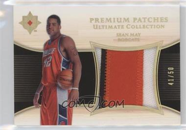 2005-06 Ultimate Collection - Premium Swatches - Patch #PP-SE - Sean May /50