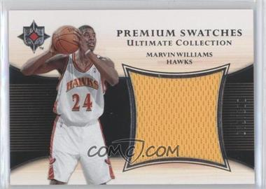 2005-06 Ultimate Collection - Premium Swatches #PS-MA - Marvin Williams /100