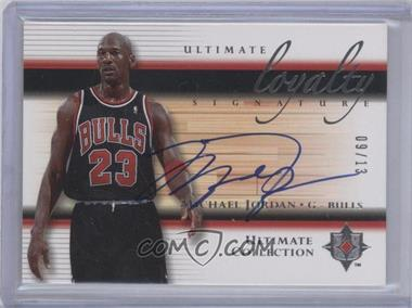 2005-06 Ultimate Collection - Ultimate Loyalty Signature - [Autographed] #LS-MJ - Michael Jordan /13