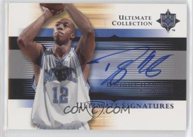 2005-06 Ultimate Collection - Ultimate Signatures #US-DH - Dwight Howard