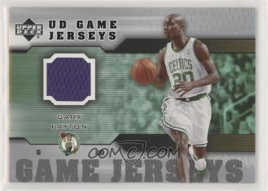 cheap for discount 817fa 277ed 2005-06 Upper Deck - UD Game Jerseys #GJ-GP - Gary Payton
