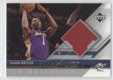 2005-06 Upper Deck - UD Materials #UDM-CB - Caron Butler