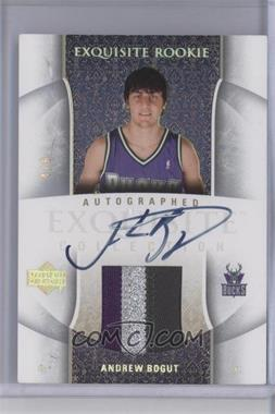 2005-06 Upper Deck Exquisite Collection - [Base] - Rookie Jersey Number Parallel #43-AP - Andrew Bogut /6