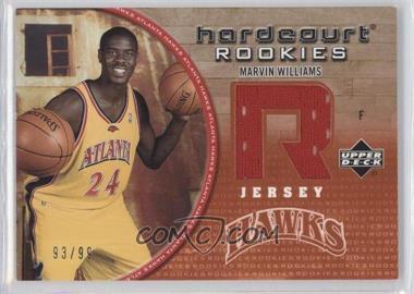2005-06 Upper Deck Hardcourt - Hardcourt Rookies Jerseys #134-J - Marvin Williams /99