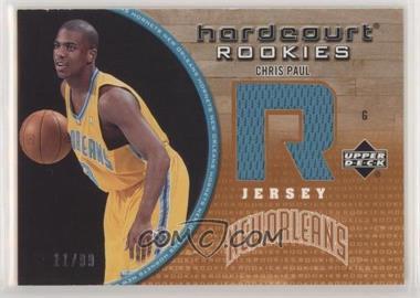 2005-06 Upper Deck Hardcourt - Hardcourt Rookies Jerseys #139-J - Chris Paul /99
