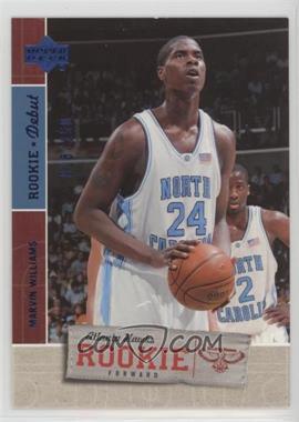 2005-06 Upper Deck Rookie Debut - [Base] - Blue #139 - Marvin Williams /150