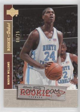 2005-06 Upper Deck Rookie Debut - [Base] - Spectrum #139 - Marvin Williams /25
