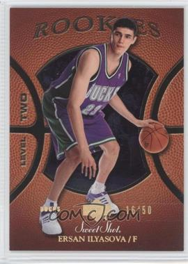 2005-06 Upper Deck Sweet Shot - [Base] - Gold Spectrum #128 - Ersan Ilyasova /50