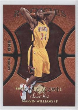 2005-06 Upper Deck Sweet Shot - [Base] - Gold Spectrum #144 - Marvin Williams /50