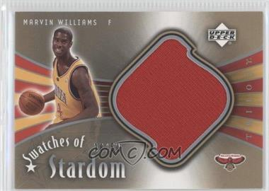 2005-06 Upper Deck Trilogy - Swatches of Stardom #SW-MW - Marvin Williams /50