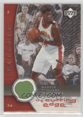 2005-06 Upper Deck Trilogy - The Cutting Edge Jersey #CE-MW - Marvin Williams [Noted]