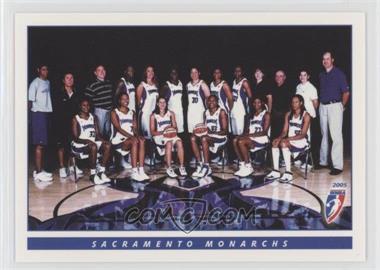 2005 Rittenhouse Wnba Base 56 Sacramento Monarchs Wnba Team