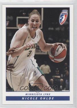 2005 Rittenhouse WNBA - [Base] #87 - Nicole Ohlde
